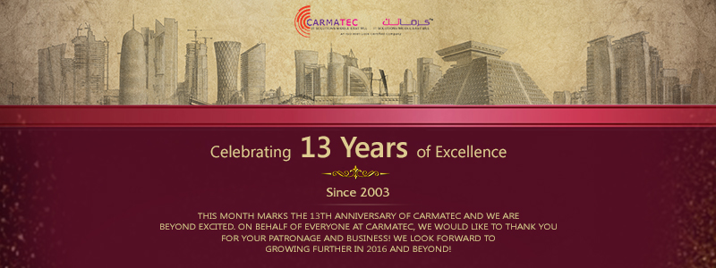 Carmatec Celebrates 13 Years Of Excellence