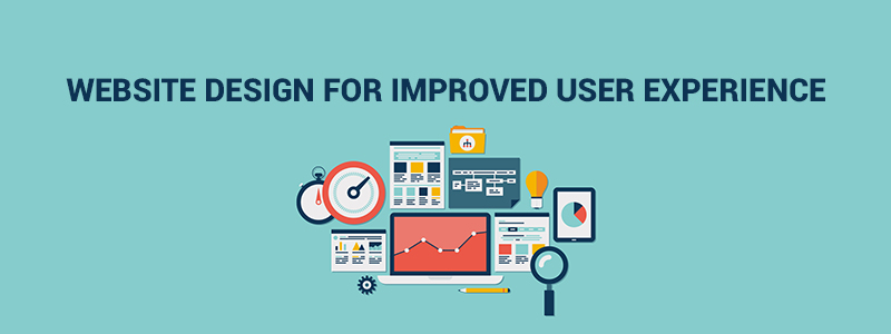Website design for improved User Experience