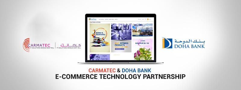Carmatec Enters E-commerce Technical Partnership with Doha Bank