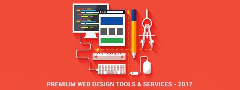 Premium Web Design Tools and Services - 2017