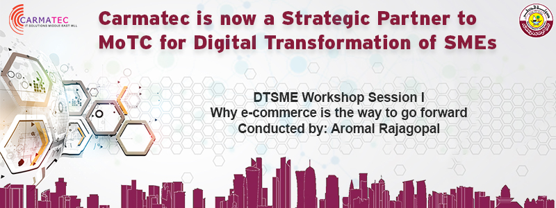 Carmatec is now Strategic Partner to MoTC For Digital Transformation of SMEs